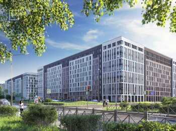 Два корпуса по 10 этажей в ЖК Светлана Парк